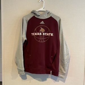 Texas State Hoodie Small